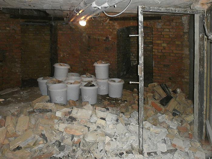Vor der Sanierung