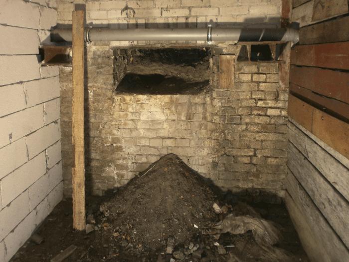 Feuchte Kellerräume